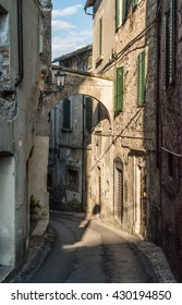 Amelia, a beautiful medieval town in province of Terni, Umbria, central Italy.