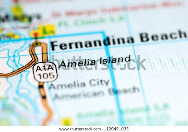 Amelia Island Florida Usa On Map Stock Photo (Edit Now ... on map of gasparilla island florida, map of merritt island florida, map of ponte vedra beach florida, map of big pine key florida, map of st. george island florida, map of pine island florida, map of orchid island florida, map of florida cities, map of anastasia island florida, map of okaloosa island florida, map of st. augustine florida, map of little torch key florida, map of st. simons island georgia coast, map of royal palm beach florida, map of dog island florida, map of captiva island florida, map of cayo costa florida, map of hutchinson island florida, map of anna maria island florida, large map of florida,