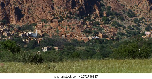 Ameln Valley in North of Tafraout - Anti-Atlas - Morocco