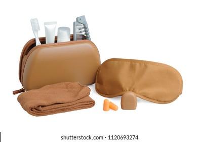 Amenity kits on long-haul international flights. Business Class Essential travel kit