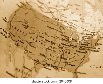 National Geographic Map United States Stock Photos Images - National-geographic-us-map