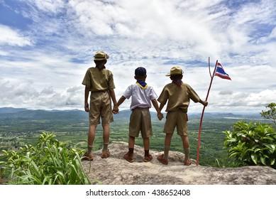 america boy Scout.