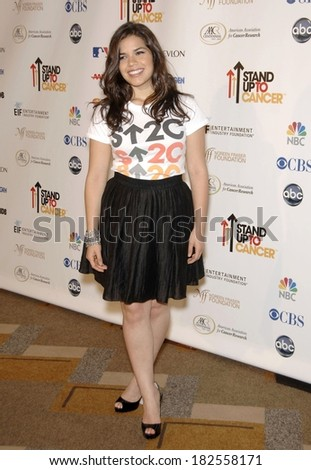 95906dfb283 America Ferrera Stand Cancer Benefit Telethon Stock Photo (Edit Now ...