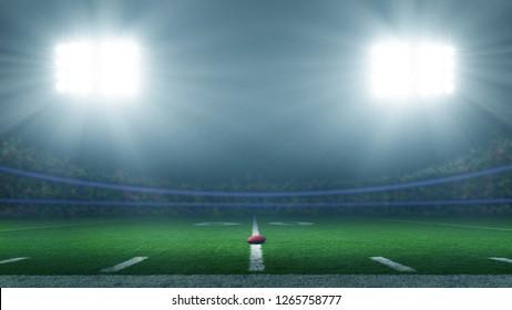 America football stadium