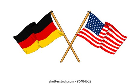America and Germany alliance and friendship
