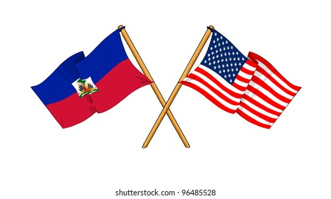 America and Haiti alliance and friendship