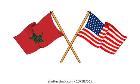 America and Morocco alliance and friendship