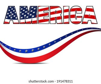 AMERICA - Raster Version