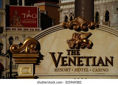 America,American,LAS VEGAS, NEVADA - Oct ,  Las Vegas VENETIAN CASINO AND HOTEL