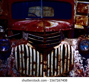 American 1940s Pickup Truck Grille