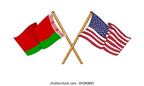 American and Belarusian alliance and friendship