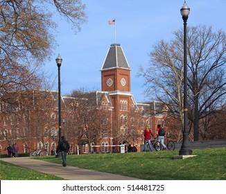 American college campus