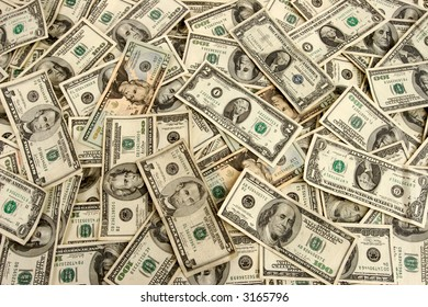 American currency, cash, lots of real money background