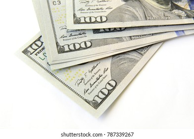 American dollar. Denominations denominated in one hundred dollar