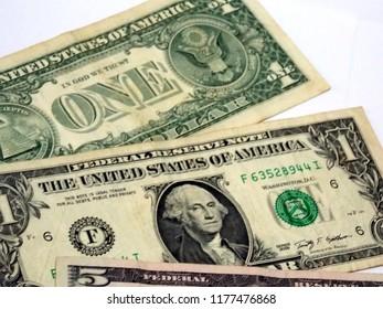 american dollars. cash money