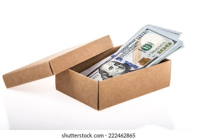 american dollars as a gift