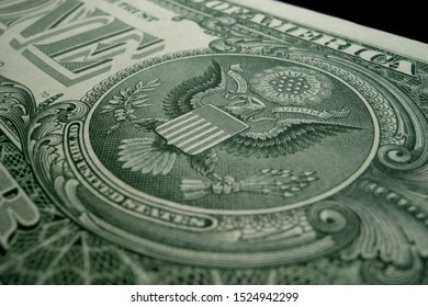 American eagle from the US one dollar bill.