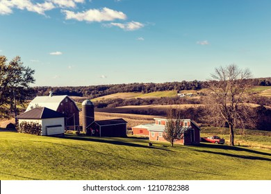 American Farmland in Autumn