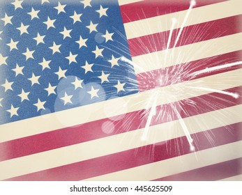 american flag background, 4th of july