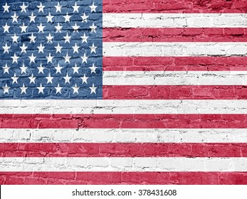 American Flag, background, texture