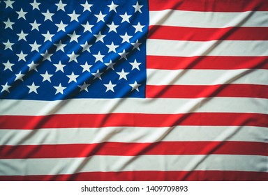 American flag background,Memorial Day or 4th of July.