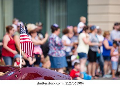 American Flag, Fourth of July Parade