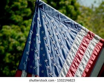 American Flag green back.