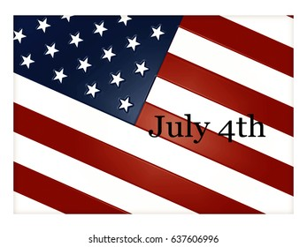 American Flag - July 4th