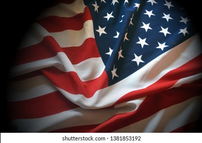 American Flag as a patriotic background