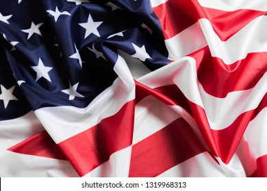 American flag waving background. Independence Day, Memorial Day, Labor Day - Image