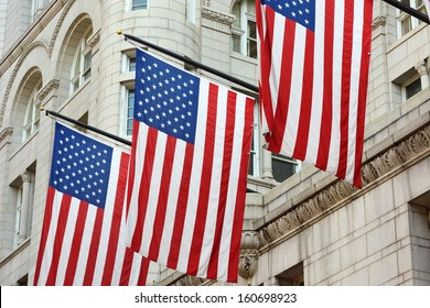 American Flags as Symbol of the American Nation