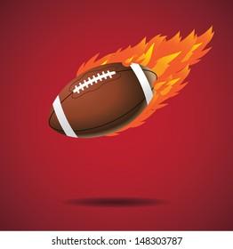 American football design element. jpg