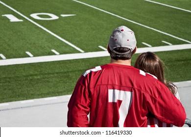 American football fans