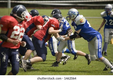 American football first division last competition of the season in geneva