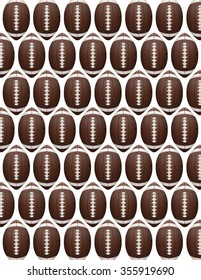 An American Football flyer design perfect for tailgate parties, football invites, etc.