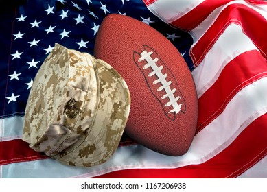 American football and the military pride.