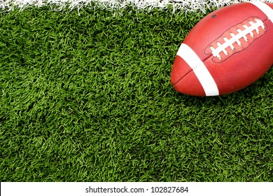 American Football on the Field