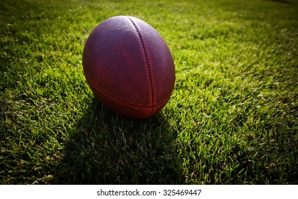 american football on stadium