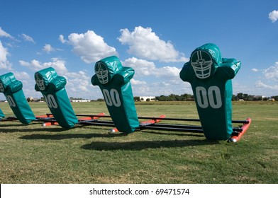 American Football Practice Hit Pads