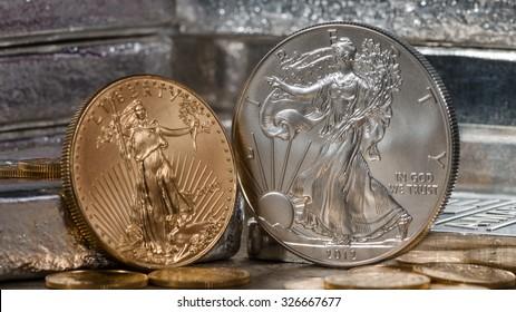 American Gold Eagle vs. Silver Eagle