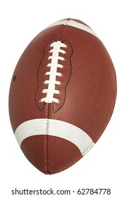 American High School or Collegiate Football with clipping path