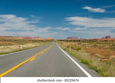 American highway in Arizona