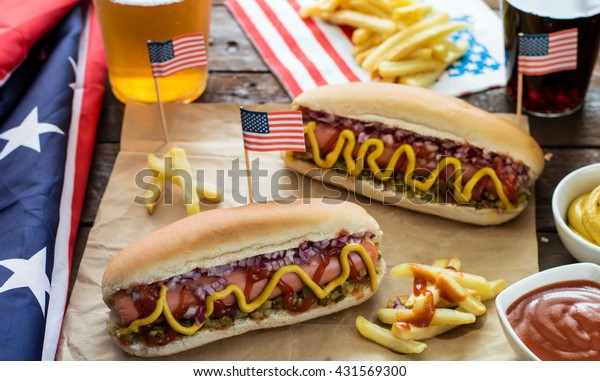 American Hotdogs -Picnic For 4 of July