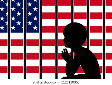American immigration policy. Immigrant children are getting separated from their parents.