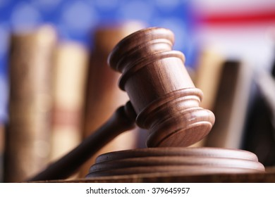 american law and justice theme