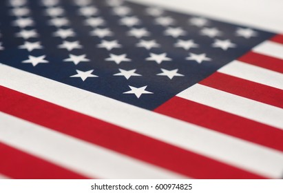 the American national flag of United States Of America, America