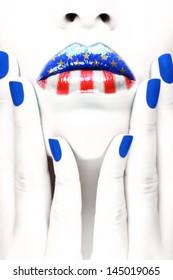 American patriot concept