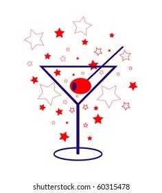 american Patriot Martini