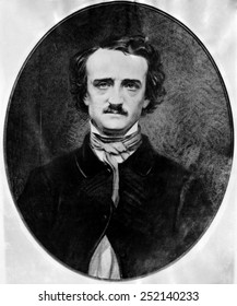 American poet and author Edgar Allan Poe photographed by Mathew B. Brady, circa 1840s. Courtesy: CSU Archives/Everett Colection.