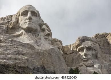 American Presidents At Mount Rushmore